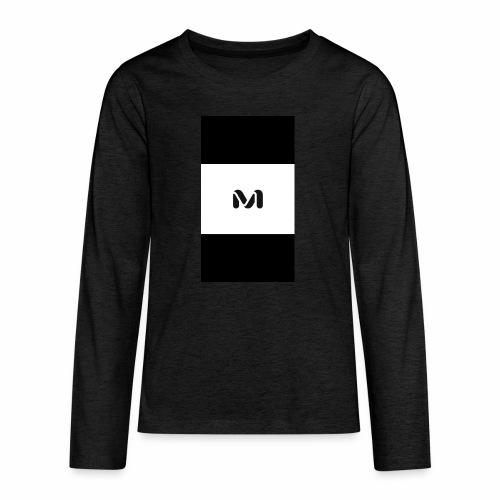 M top - Teenagers' Premium Longsleeve Shirt