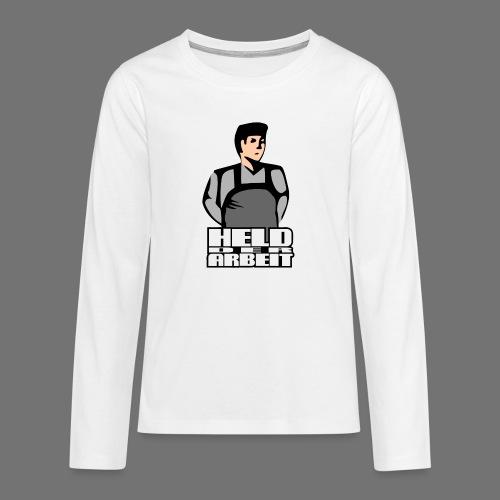 Hero of Labour (työntekijät Held) - Teinien premium pitkähihainen t-paita
