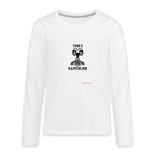 THOR's-RAMMjolnir - T-shirt manches longues Premium Ado