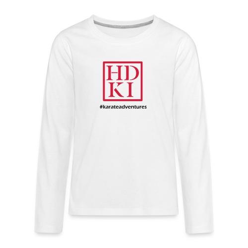 HDKI karateadventures - Teenagers' Premium Longsleeve Shirt