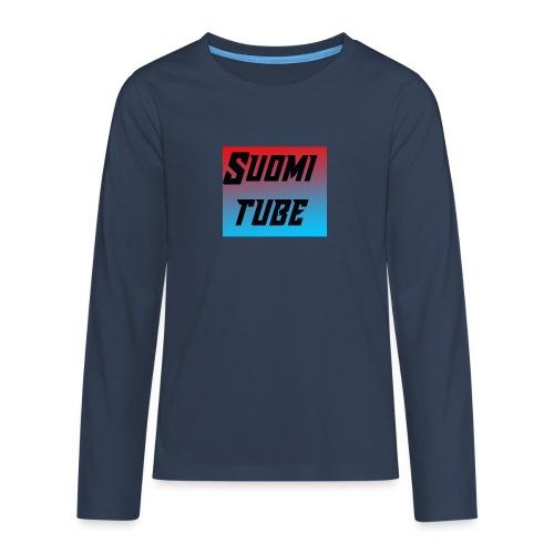 SuomiTube - Teinien premium pitkähihainen t-paita