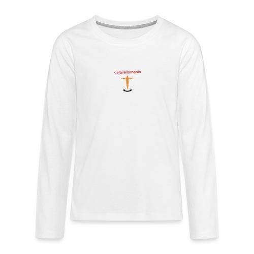 CARAVELLOMANIA - Maglietta Premium a manica lunga per teenager