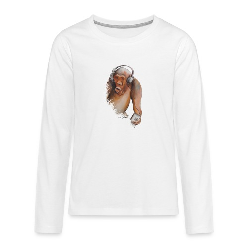 Singe old fashion - T-shirt manches longues Premium Ado