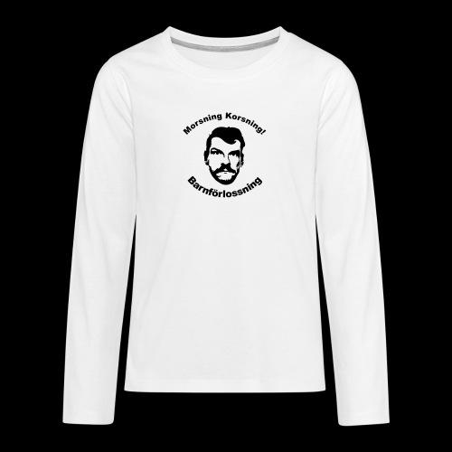 chrille2 - Långärmad premium T-shirt tonåring