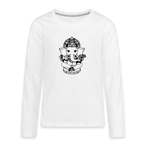 Wee Ganesh - Teenagers' Premium Longsleeve Shirt