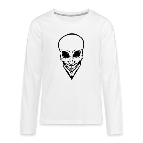Alien - Teenager Premium Langarmshirt