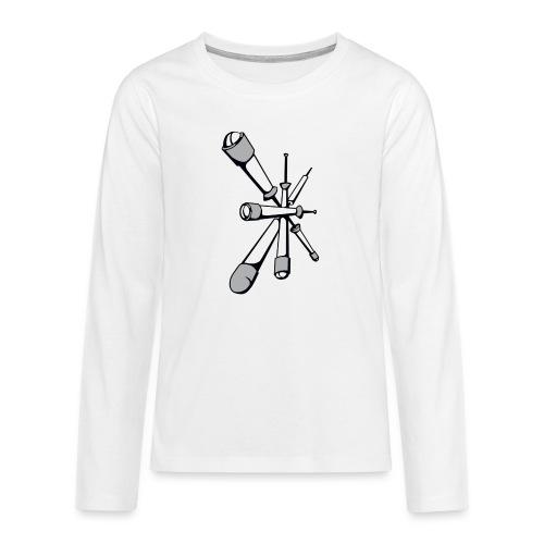 Pompfen - Teenager Premium Langarmshirt