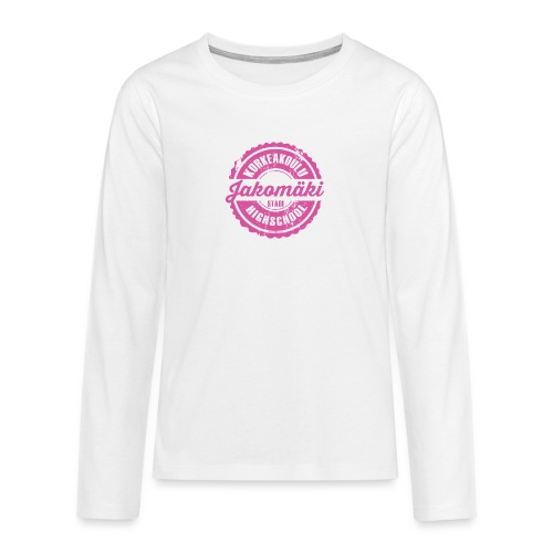 77P-JAKOMÄEN KORKEAKOULU - Stadi, Helsinki - Teinien premium pitkähihainen t-paita