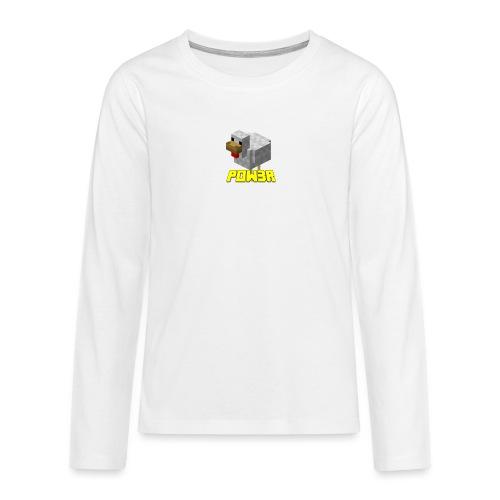 POw3r Baby - Maglietta Premium a manica lunga per teenager