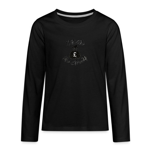 Motivate The Streets - Teenagers' Premium Longsleeve Shirt