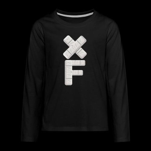 XF Xanax Logo - Teenager Premium Langarmshirt