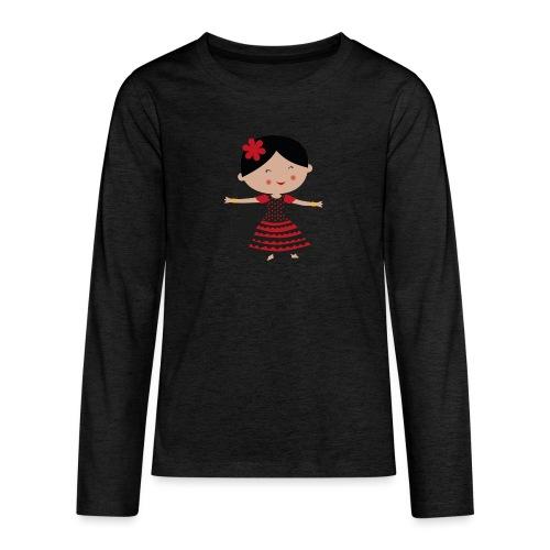 Happy Meitlis - Spanien - Teenager Premium Langarmshirt