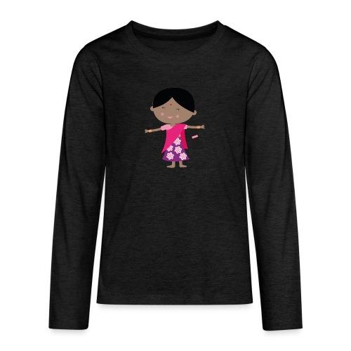 Happy Meitlis - Indien - Teenager Premium Langarmshirt