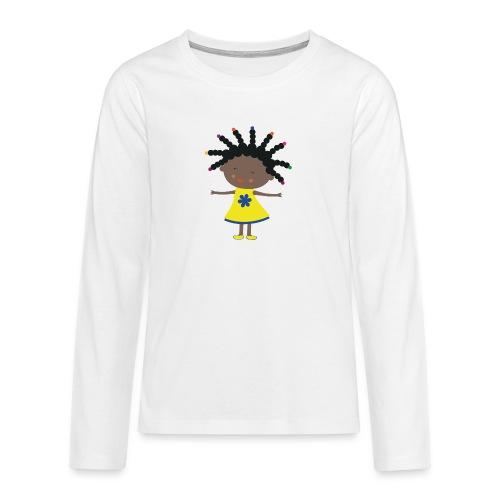 Happy Meitlis - Afrika - Teenager Premium Langarmshirt