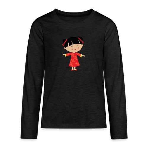 Happy Meitlis - China - Teenager Premium Langarmshirt