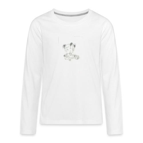 Broken teddybear - Teenager Premium shirt met lange mouwen