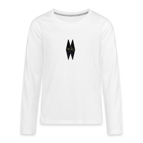 MELWILL black - Teenagers' Premium Longsleeve Shirt