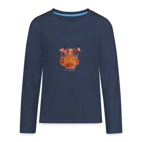 Srauss, again Monday, English writing - Teenagers' Premium Longsleeve Shirt