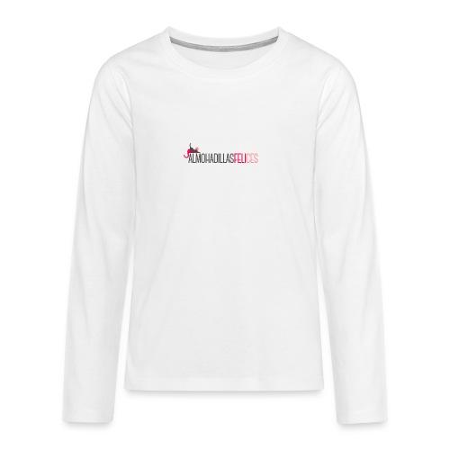 sudadera unisex gris - Camiseta de manga larga premium adolescente