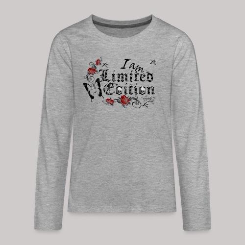 simply wild limited Edition on white - Teenager Premium Langarmshirt