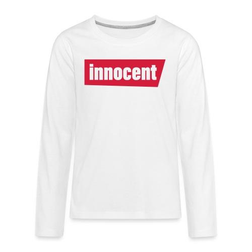 innocent - Teenager Premium Langarmshirt