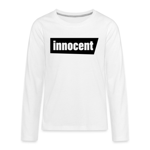 Innocent Black-Edition - Teenager Premium Langarmshirt