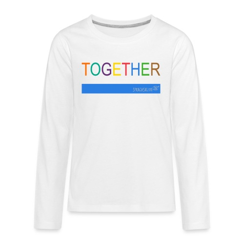 TOGETHER - Teenager Premium Langarmshirt