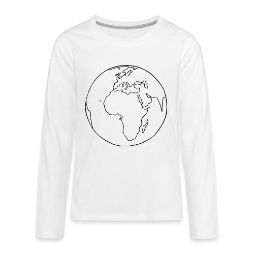 Mutter Erde - Teenager Premium Langarmshirt