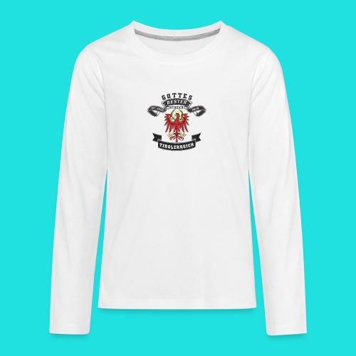Tiroler - Teenager Premium Langarmshirt