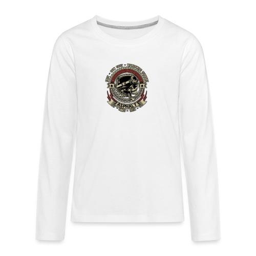Asphalt - Maglietta Premium a manica lunga per teenager