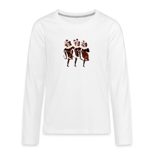 Vintage Dancers - Teenagers' Premium Longsleeve Shirt