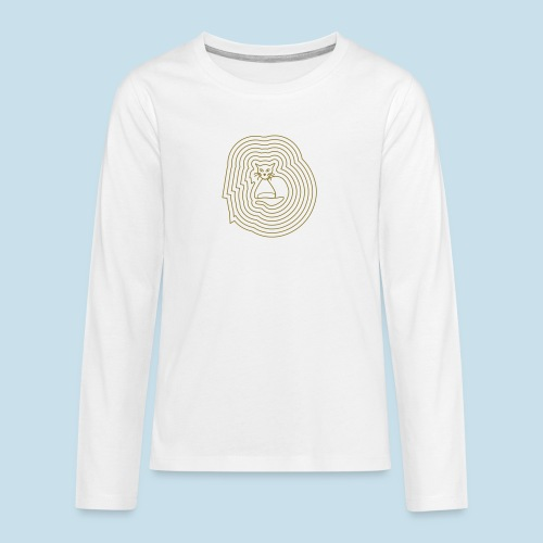 Katzenliebe - Teenager Premium Langarmshirt