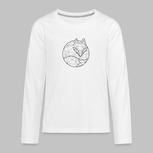 Fox Graph - Teenagers' Premium Longsleeve Shirt