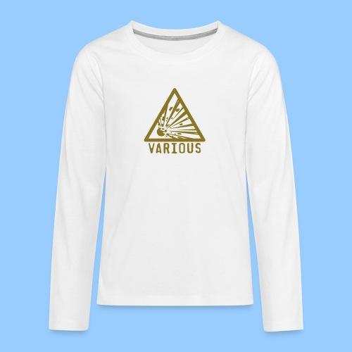 VariousExplosions Triangle (1colour) - Teenagers' Premium Longsleeve Shirt