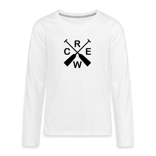 Drachenboot Crew - Teenager Premium Langarmshirt