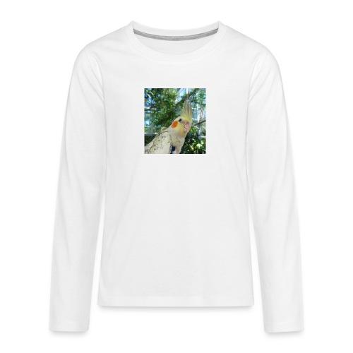 ninjanen - Teinien premium pitkähihainen t-paita