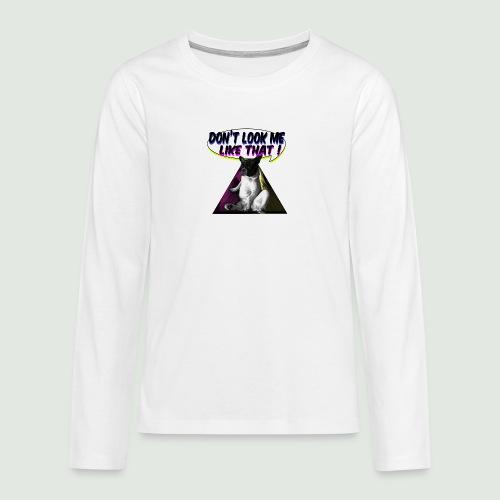 bouledogue français - T-shirt manches longues Premium Ado