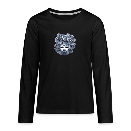 Flower Head - T-shirt manches longues Premium Ado
