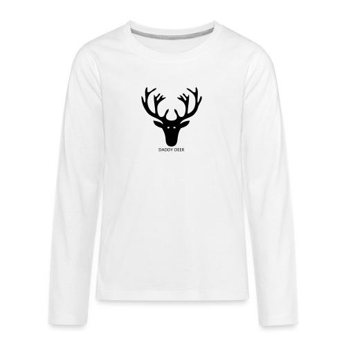 DADDY DEER - Teenagers' Premium Longsleeve Shirt