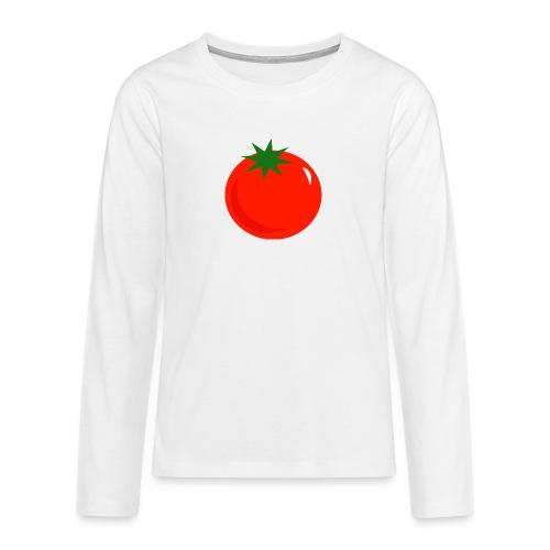 Tomate - Camiseta de manga larga premium adolescente