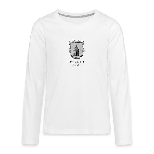 Tornio Est 1621 - Teinien premium pitkähihainen t-paita