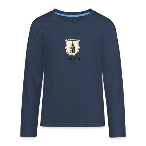 Torneå 1621 - Teinien premium pitkähihainen t-paita