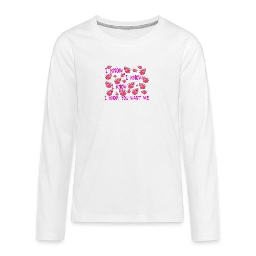 SWINE unisex - Camiseta de manga larga premium adolescente