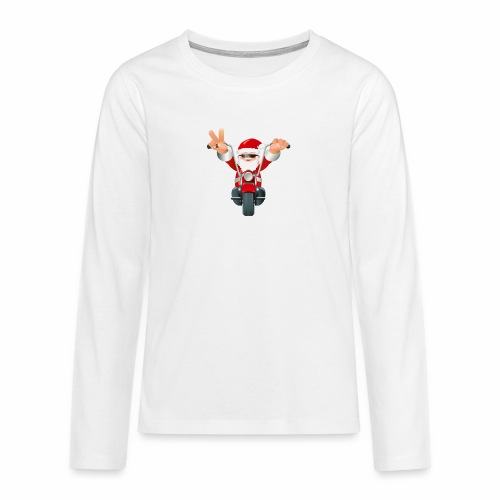 Father X-Mas - Teenagers' Premium Longsleeve Shirt