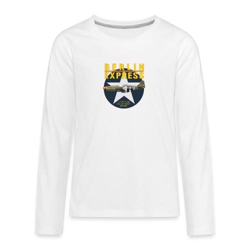 P-51B Berlin Express - T-shirt manches longues Premium Ado