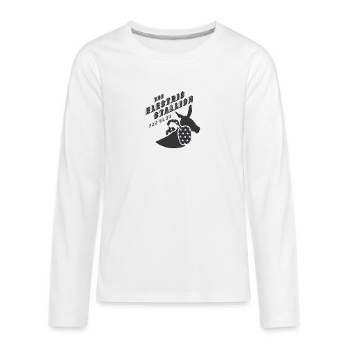 stallion badges - Teenagers' Premium Longsleeve Shirt