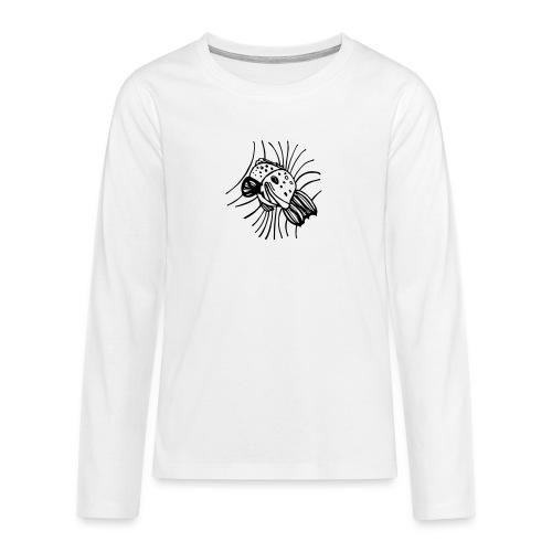 pesce1 - Maglietta Premium a manica lunga per teenager
