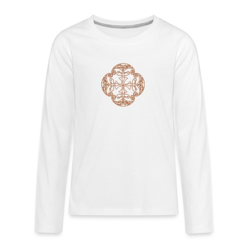 Anglian gold (Mellowed) - Teenagers' Premium Longsleeve Shirt