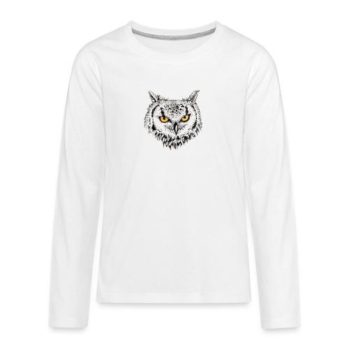 Nachteule - Teenager Premium Langarmshirt