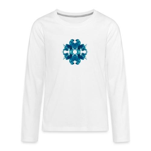 Tintenklecks unter Wasser - Teenager Premium Langarmshirt